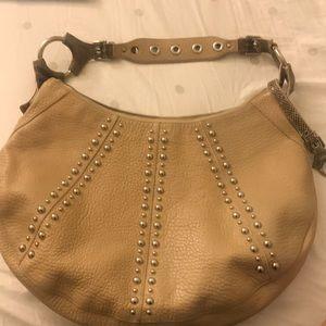 Dolce & Gabbana Snakeskin Studded Handbag